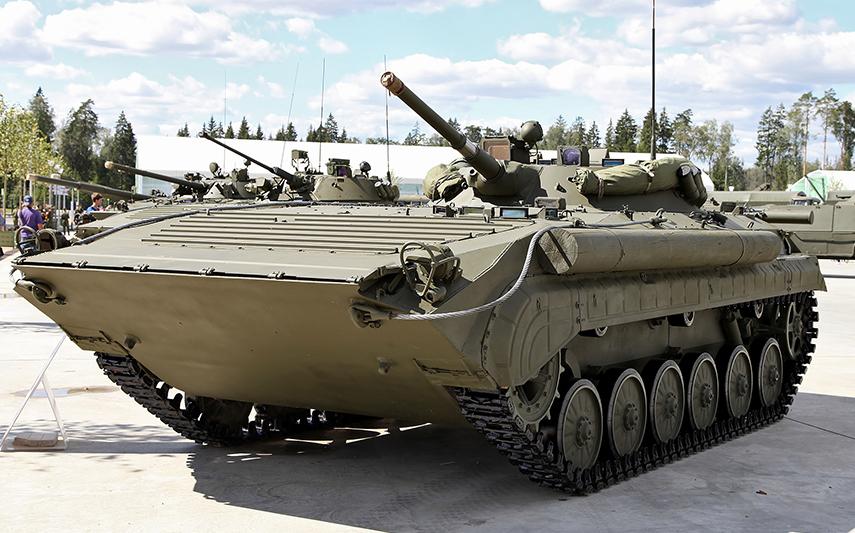 Катание на Боевой Разведывательной Машине БРМ-1к