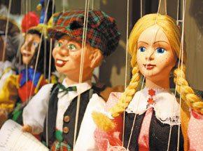 Кукольный театр для двоих - Подарочный сертификат от P.S.BOX