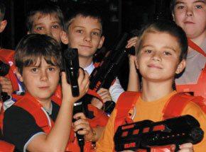 Лазерная битва для детей - Подарочный сертификат от P.S.BOX