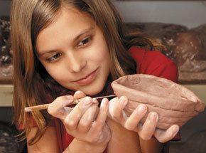 Лепка из глины для детей - Подарочный сертификат от P.S.BOX