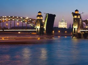 Ночной Петербург встраиваемый светильник ambrella led s299 s299 ch