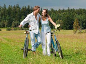 Пикник на велосипедах для двоих - Подарочный сертификат от P.S.BOX