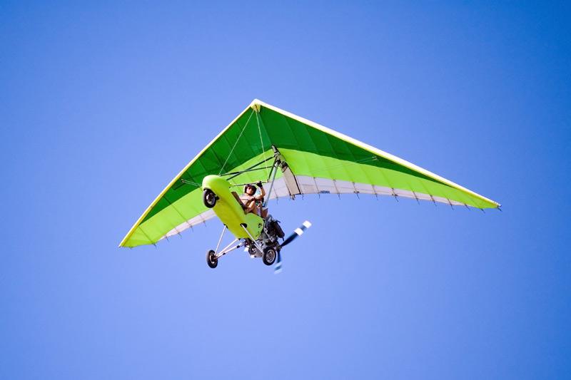 Полет на мотодельтаплане для двоих
